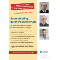 Sogmarketing durch Positionierung 2021
