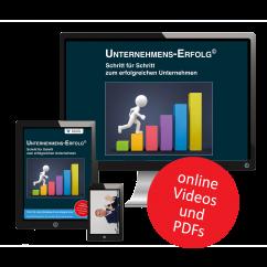 Unternehmens-Erfolg Basis Online-Kurs