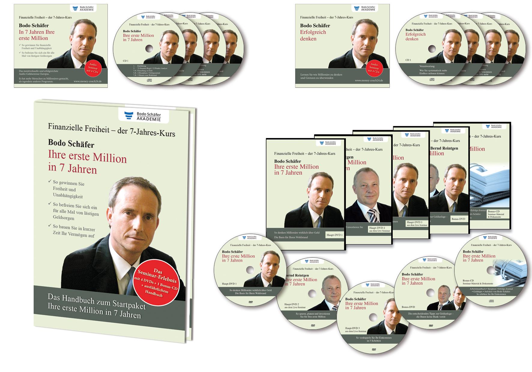 DVD-Set: In 7 Jahren Ihre erste Million